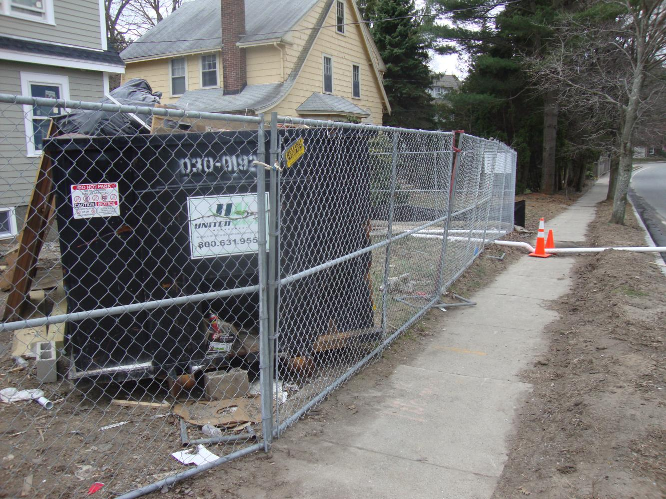 Temporary Construction Fences : Temporary construction fence reliable