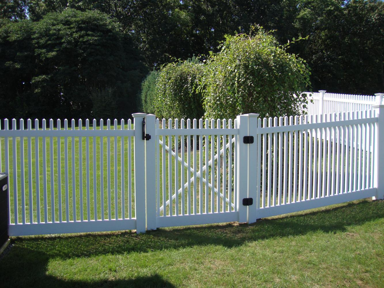 Pvc Vinyl Reliable Fence